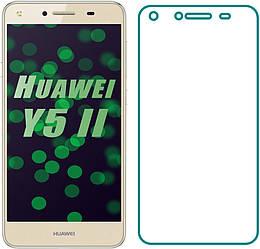 Защитное стекло Huawei Y5 II (Прозрачное 2.5 D 9H) (Хуавей У5 2)