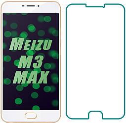 Защитное стекло Meizu M3 Max (Прозрачное 2.5 D 9H) (Мейзу М3 Макс Мах)