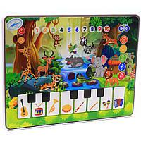 Развивающий музыкальный детский обучающий планшет «Зоопарк» Limo Toy (M 3812), фото 1