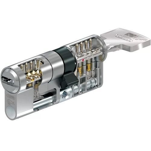 Цилиндровый механизм ABUS BRAVUS MAGNET 3500 MX 65/65 - ключ/ключ