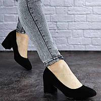 Женские туфли на каблуке Fashion Slider 2032 37 размер 24 см Черный, фото 1