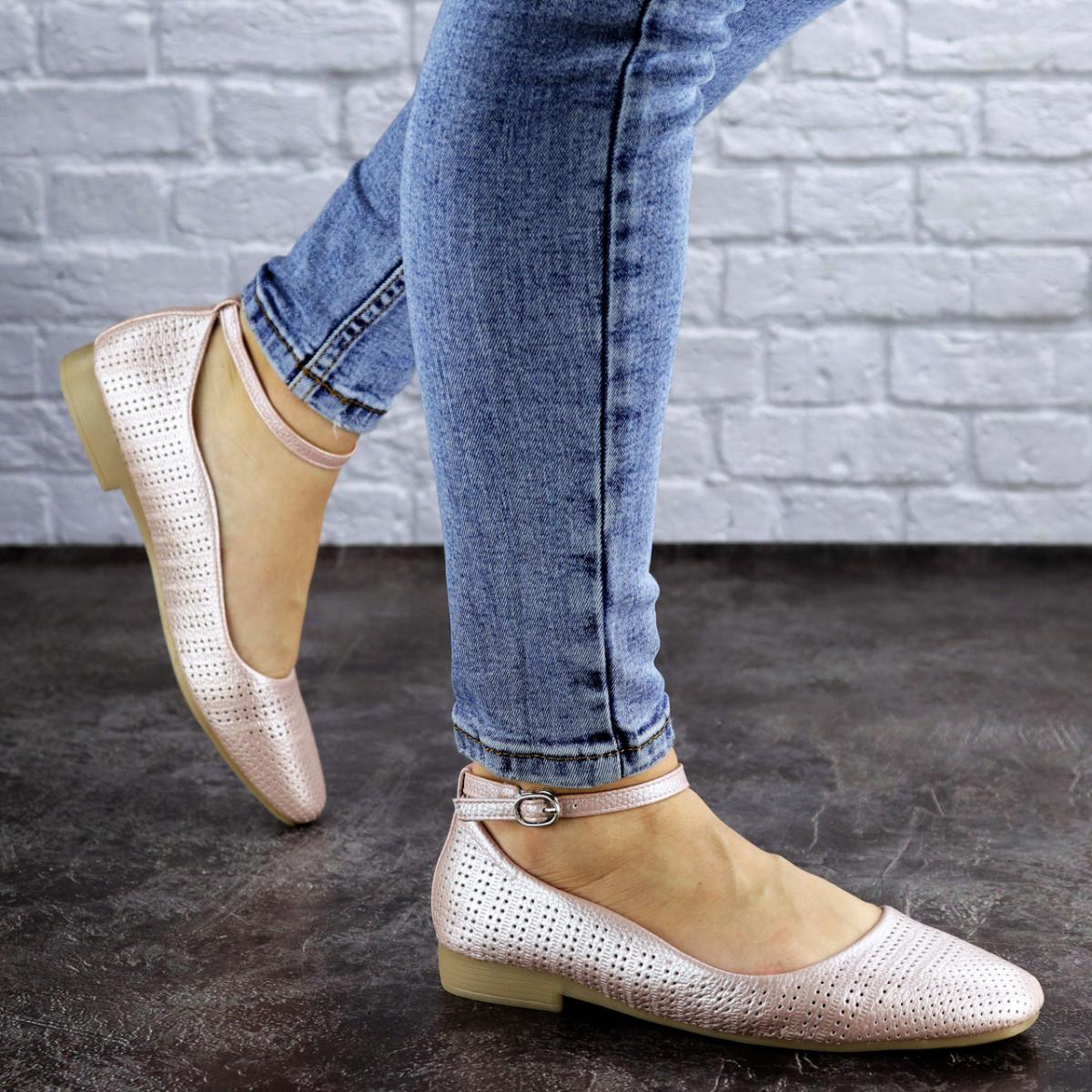 Женские туфли розовые Dewey 1963 (36 размер)