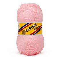 Пряжа для ручного вязания Kartopu Flora (акрил) розовый