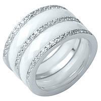 Серебряное кольцо DreamJewelry с керамикой (1214299) 17.5 размер, фото 1