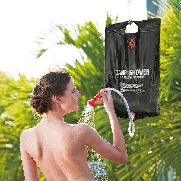 Туристический душ для дачи и кемпинга | Подвесной походный душ на 20 л camp shower