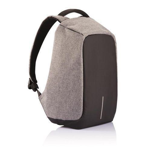 Городской рюкзак антивор с разъемом usb для зарядки гаджетов серого цвета Bobby XD Design Grey USB (Реплика)