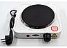 Дисковая  электро плита на одну конфорку с регулятором мощности белого цвета WimpeX WX-100A-HP (1000 Вт), фото 3