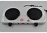 Дисковая электроплита на две конфорки  Wimpex WX-200A-HP, фото 2