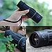 Мощный оптический монокуляр с двойной регулировкой черного цвета Бушнел 800 м | Моноколь Bushnell 16Х52 GGM, фото 3