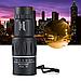 Мощный оптический монокуляр с двойной регулировкой черного цвета Бушнел 800 м | Моноколь Bushnell 16Х52 GGM, фото 6