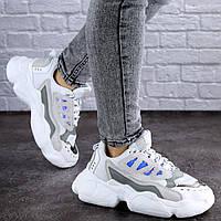 Женские кроссовки серые Queno 1994 (37 размер), фото 1