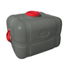 Бак пищевой пластиковый Консенсус СЕРЫЙ 100л Квадратный