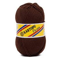 Пряжа для ручного вязания Kartopu Flora (акрил) шоколад