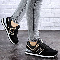Женские кроссовки Fashion Nix 1990 36 размер 23 см Черный, фото 1