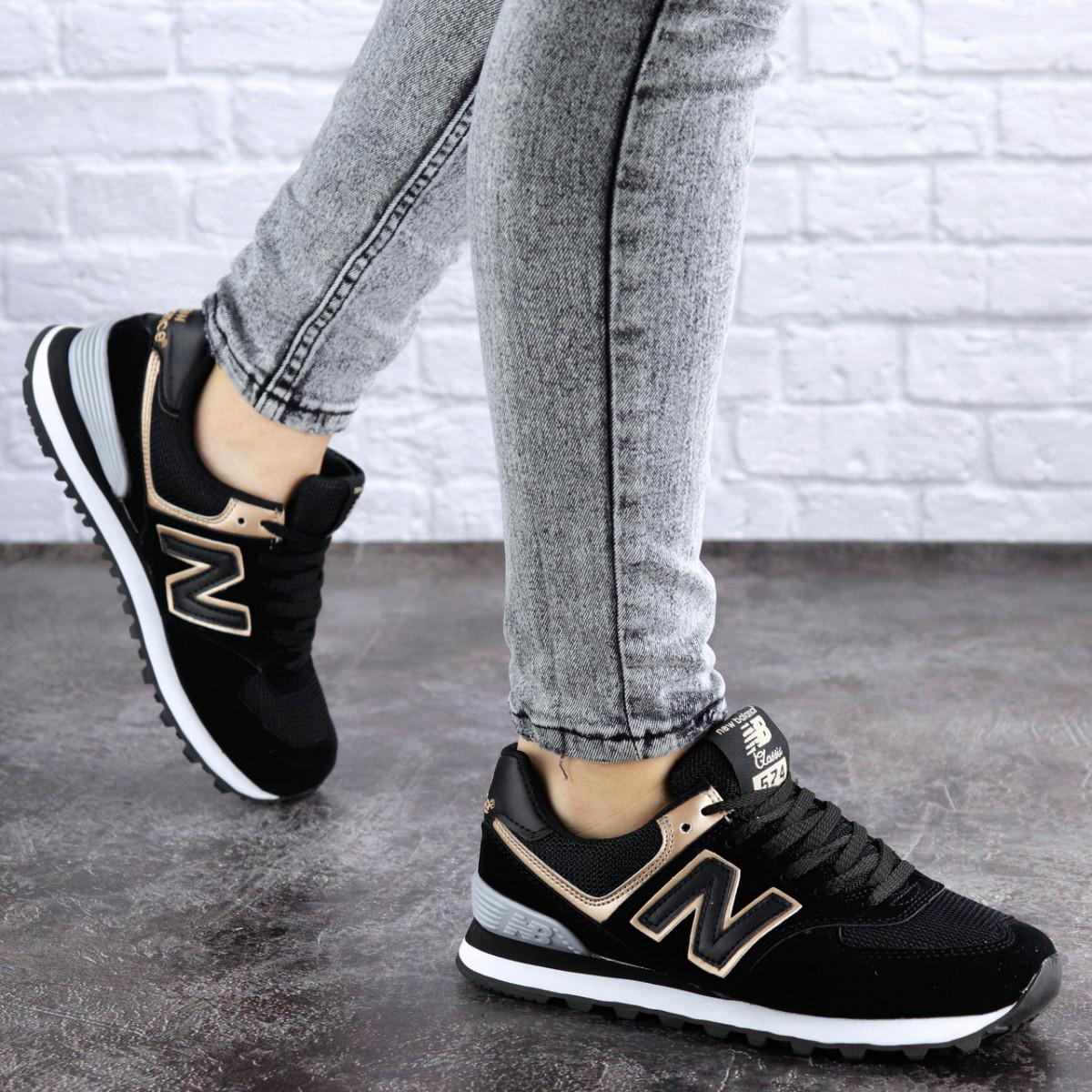 Женские кроссовки Fashion Nix 1990 36 размер 23 см Черный