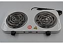 Плита электрическая на две конфорки WimpeX WX-200B-HP, фото 6