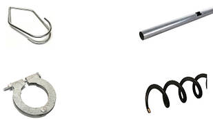 Трубы и спираль для продольной раздачи