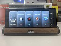 GPS навигатор Car Record T7 Tab 2в1 + регистратор 2 камеры