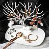 Оригинальная подставка для украшений в виде оленя белого цвета My Little Deer Tray, фото 3