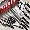 Набор кухонных ножей из нержавеющей стали Mibacle Blade 13 в 1 (Реплика), фото 9