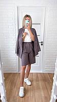 Костюм женский пиджак с шортами  в расцветках  52771