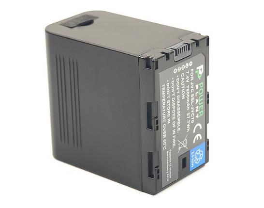 Аккумулятор PowerPlant JVC SSL-JVC70 7800mAh, фото 2