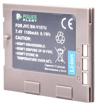 Аккумулятор PowerPlant JVC BN-V107U 1100mAh, фото 2