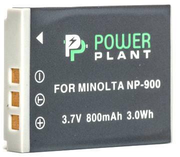 Аккумулятор PowerPlant Minolta NP-900, Li-80B 800mAh, фото 2
