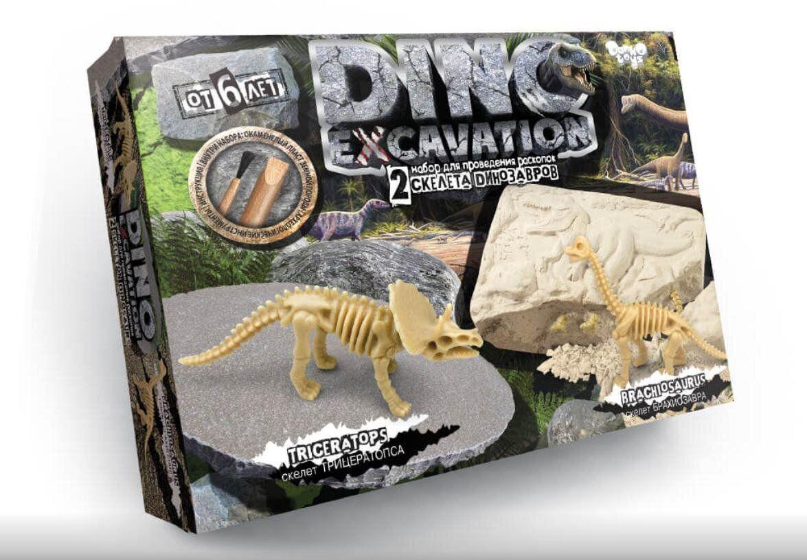 Набор для проведения раскопок динозавры Dino Excavation DEX-01-01