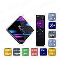 H96 MAX 4/32 Гб Android 10 Smart TV Box ТВ приставка