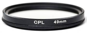 Светофильтр PowerPlant CPL 49 мм, фото 2