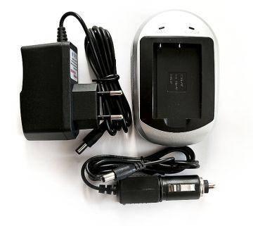 Зарядное устройство PowerPlant Canon NB-6L, Samsung SLB-10A, фото 2