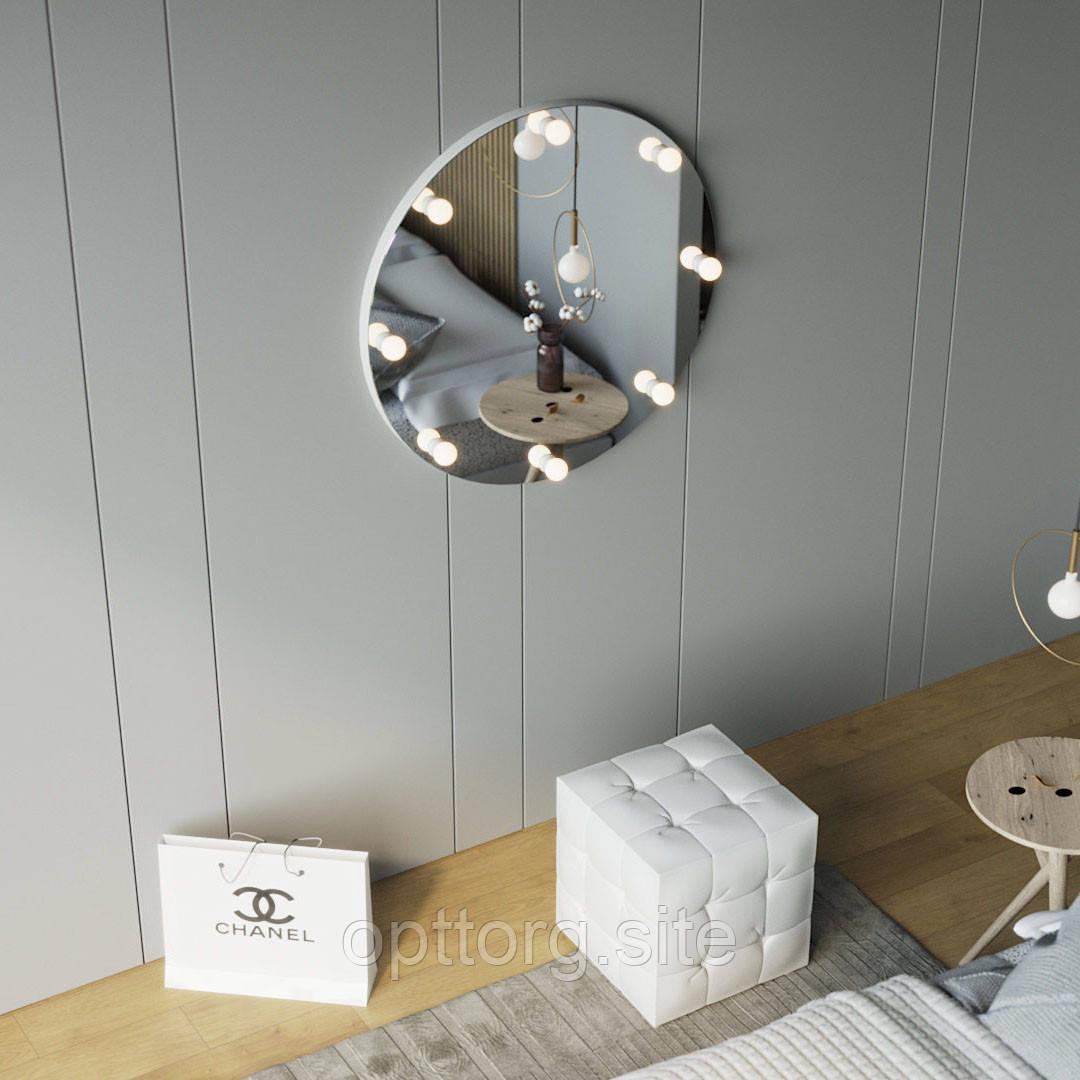 Дзеркало настінне кругле безрамкове Z-Line