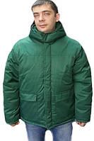 Зеленая куртка. Очень теплая и надежная. Размеры в наличии.