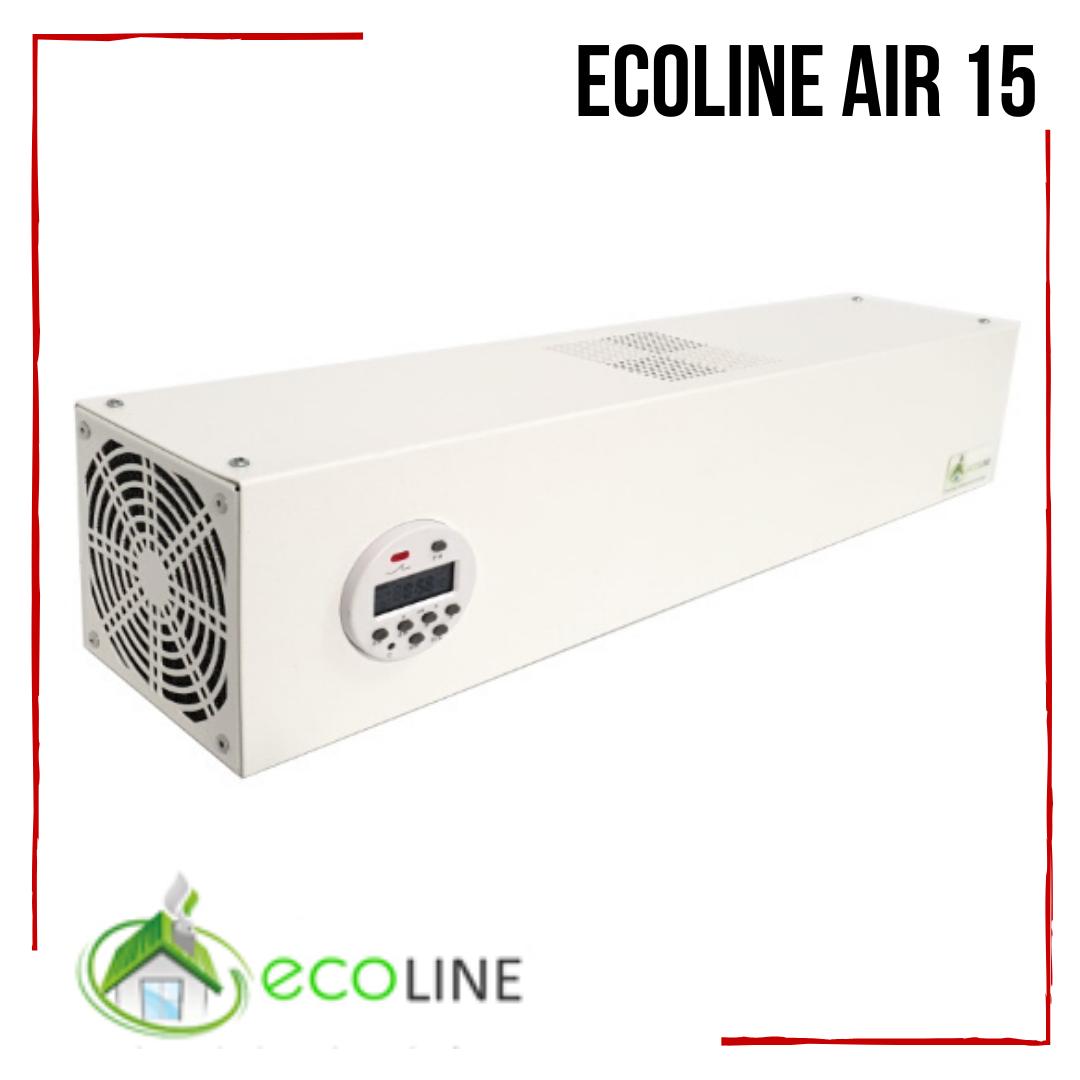 Рециркулятор бактерицидный ECOLINE Air 15 очиститель воздуха для кварцевания обеззараживания воздуха на 30м2