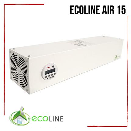Рециркулятор бактерицидный ECOLINE Air 15 очиститель воздуха для кварцевания обеззараживания воздуха на 30м2, фото 2
