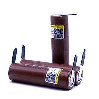 Li-ion акумулятор LG HG2 3000mAh 3.7 V 20A высокотоковый
