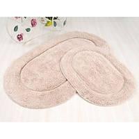 Набор ковриков в ванную Irya Blanco бежевый 60*100 + 45*60