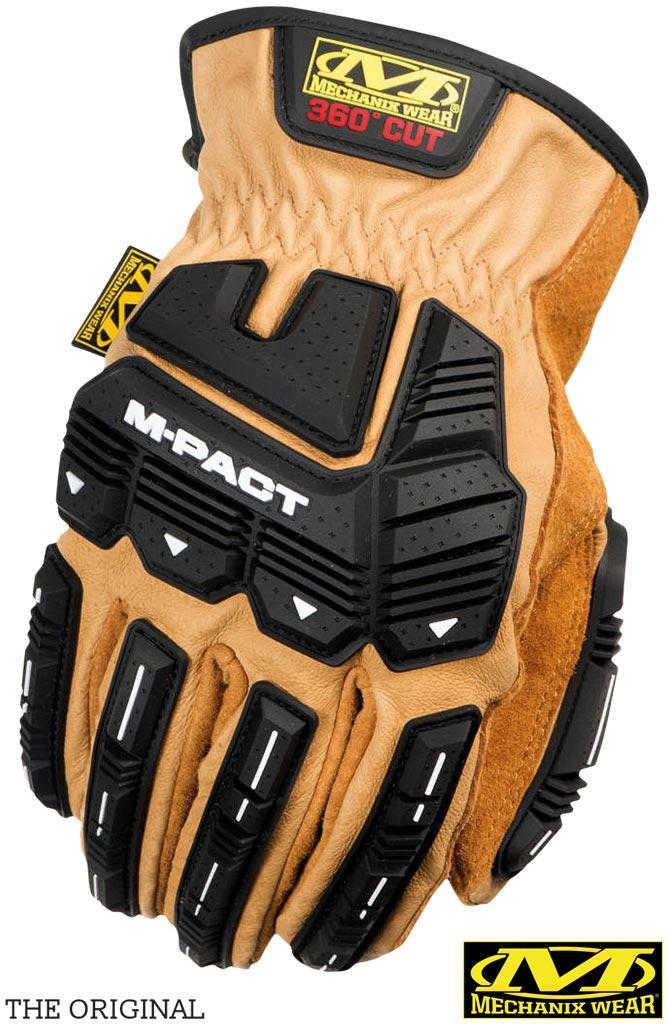 Перчатки тактические кожаные MECHANIX RM-DRIVERTAN H