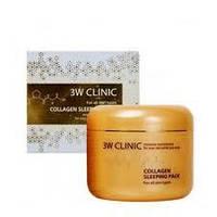 Коллагеновая, подтягивающая, омолаживающая маска 3W Clinic Collagen Sleeping Pack