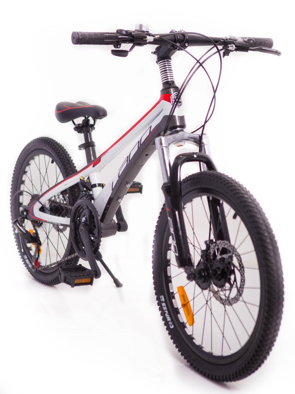 Горный подростковый магниевый велосипед LANQ VA210 Колёса 20 дюймов