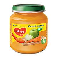 Пюре Milupa Яблоко морковь 125 г 142119 ТМ: Milupa