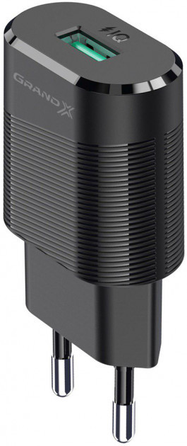 Зарядное устройство Grand-X CH-17 USB 5V 2,1 A с защитой от перегрузки
