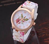 Часы женские Geneva Flower Очень красивые! два цвета