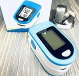 Пульсометр беспроводной на палец Pulse Oximeter, фото 5