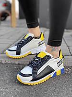 Pride женские кроссовки dg yellow  30-3