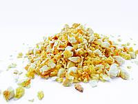 Сублимированный апельсин фрукты кусочками 2-7 мм 50 грамм