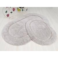 Набор ковриков в ванную Irya Blanco серый 60*100 + 45*60