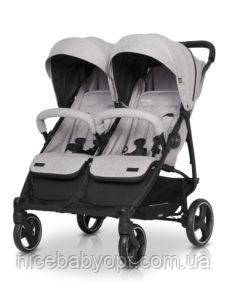 Прогулочная коляска для двойни EASYGO DOMINO 2020 PEARL