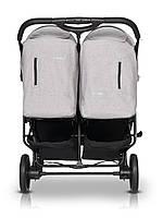 Прогулочная коляска для двойни EASYGO DOMINO 2020 PEARL, фото 4